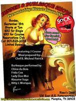 Sock It To Me Burlesque Presents...Dinner & A Show!