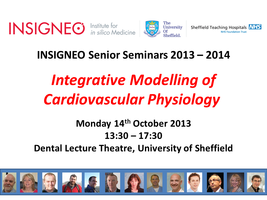 INSIGNEO senior seminars:Integrative Modelling of...