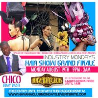 The GRAND FINALE of the Hair Show Weekend !!! Leo's...