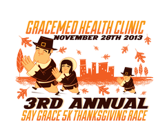 3rd Annual 'Say Grace' Thanksgiving Day 5K Race