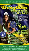 BRAZILIAN INDEPENDENCE DAY PARTY @ YOSHI'S SF BY AYKUT...