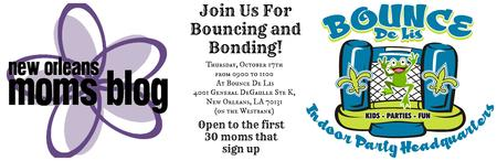 Join Us For Bouncing and Bonding