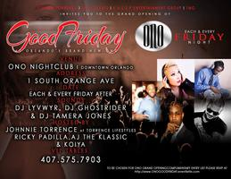 We are back again at ONO Nightclub THIS FRIDAY for GOOD...