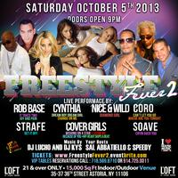 FREESTYLE FEVER II: Rob Base, Cynthia, Cover Girls,...