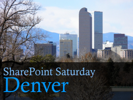 SharePoint Saturday - Denver