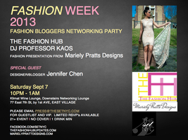 FashionWeek2013: Fashion Bloggers Networking...