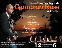 An Evening with Cameron Ross & Friends