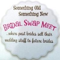 Bridal Swap Meet...past brides sell their wedding...