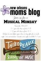 Musical Monday For The 0-1 year olds