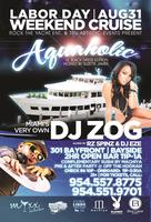 Auqaholic all inclusive Labor Day Weekend cruise