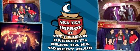 Sea Tea Improv's 50th FREE Show at City Steam Brewery!