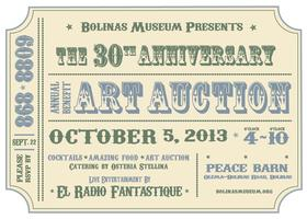 Bolinas Museum Benefit Art Auction & Party!