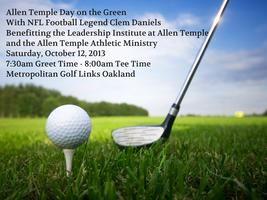 Allen Temple Day on the Green with Clem Daniels