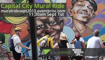 Capital City Mural Ride presented by BicycleSPACE &...