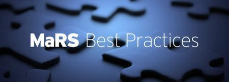 MaRS Best Practices - Using Social Media to Support...
