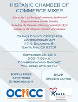 OCHCC and CASA Mixer with Congresswoman Loretta Sanchez