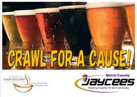 "Morris County Jaycees 2nd Annual ""CRAWL FOR A CAUSE"""