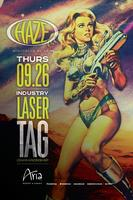 Industry Laser Tag @ HAZE Nightclub