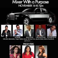 """Men In Black"" Mixer with a Purpose!"
