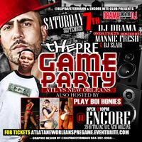 Atlanta vs New Orleans Pre-Game Party