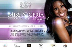 Miss Nigeria in America Beauty Pageant