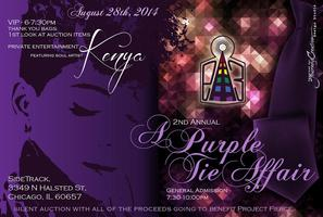 2nd Annual Purple Tie Affair & Silent Auction:...