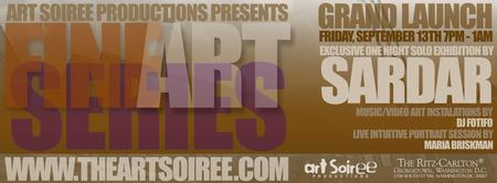 GRAND LAUNCH - Art Soiree's Fall Fine Art Series