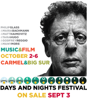 Philip Glass Solo Concert & Picnic in the Redwood Grove