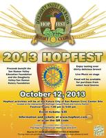 Dougherty Valley / San Ramon Rotary Hopfest 2013