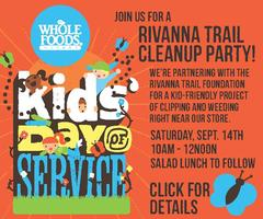 Kids Day of Service: Rivanna Trail Cleanup