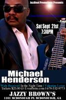 Michael Henderson Live at Jazzy Brown's
