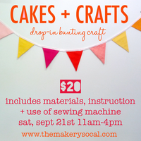 Cakes + Crafts: Handmade Buntings