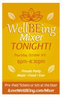 WellBEing Resource Mixer + Yummy Food & Prizes!