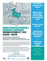 Urban Stream Restoration And Awareness Conference
