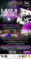 """""""Miami on the Rooftop"""" Launch Pool Party by LAID Brand..."""