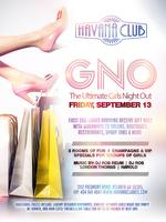 Girls Night Out Friday Sept 13th Havana Club