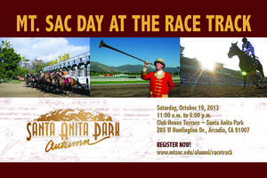 Mt. SAC Day at the Race Track