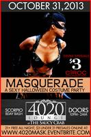 MASQUERADE - A SEXY HALLOWEEN PARTY {ULTRALOUNGE -...