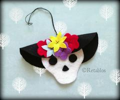 Etsy Meet & Make Fiber Salon: La Catrina Ornaments...