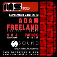 Adam Freeland | Monday Social