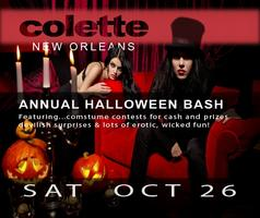 Colette New Orleans Annual Halloween Bash