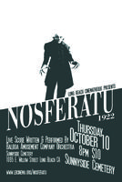 NOSFERATU Live Score Screening at Sunnyside Cemetery