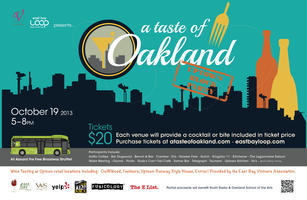 2013 A Taste of Oakland – Uptown Block Party! 10/19...
