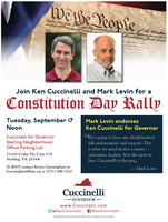 Ken Cuccinelli and Mark Levin for a Constitution Day...