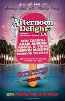Afternoon Delight LA @ Standard Rooftop Pool | Sun,...