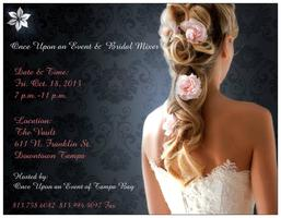 Once Upon an Event & Bridal Mixer at The Vault
