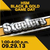 HSM Black & Gold Game Day!