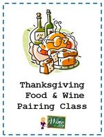 Thanksgiving Food & Wine Pairing Class