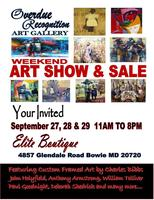 Overdue Recognition Art Gallery Weekend Art Show and Sa...