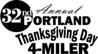 Portland's 32nd Annual Thanksgiving Day 4-Miler